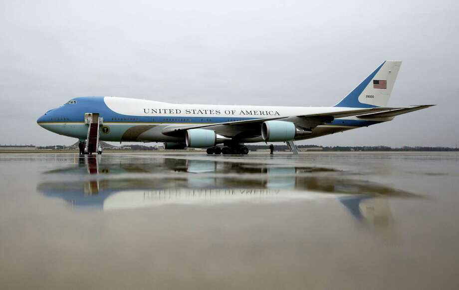Air Force One is seen on the tarmac at Andrews Air Force Base, Md., Tuesday, Dec. 6, 2016, before President Barack Obama boards en route to MacDill Air Force Base in Tampa, Fla. President-elect Donald Trump wants the government's contract for a new Air Force One canceled. Photo: AP Photo/Carolyn Kaster    / Copyright 2016 The Associated Press. All rights reserved.
