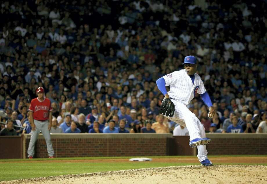 Chicago Cubs closer Aroldis Chapman. Photo: The Associated Press File Photo   / AP