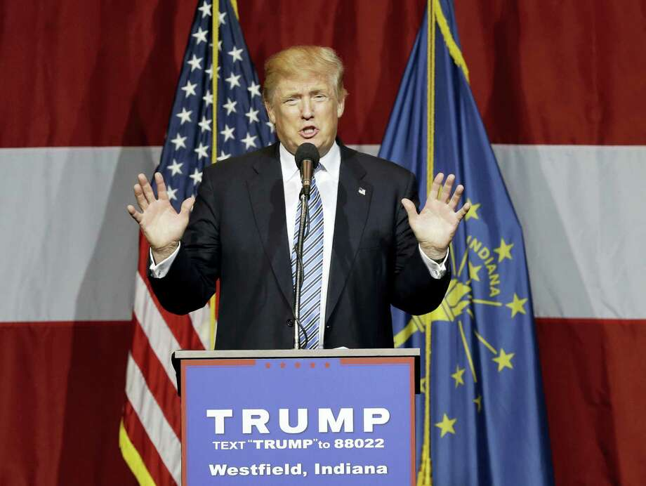 Republican presidential candidate Donald Trump. Photo: The Associated Press File Photo   / AP