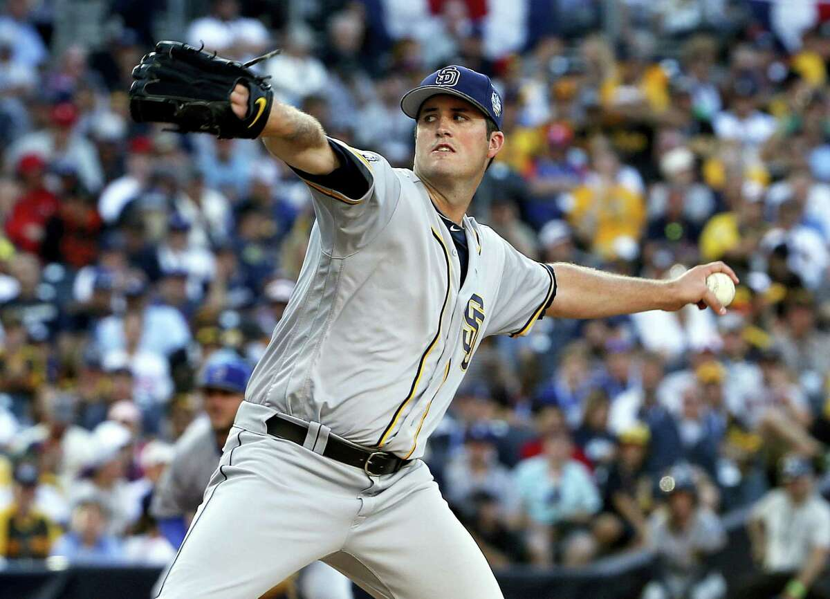 Drew Pomeranz was traded to the Red Sox on Thursday for minor leaguer Anderson Espinoza.