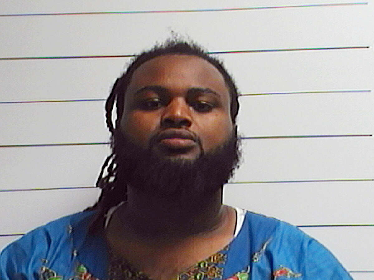 This April 10, 2016 photo provided by the Orleans Parish Sheriff's Office shows Cardell Hayes. The trial for Hayes charged with second-degree murder in the April 9 shooting death of former New Orleans Saints player Will Smith begins with jury selection Monday, Dec. 5.