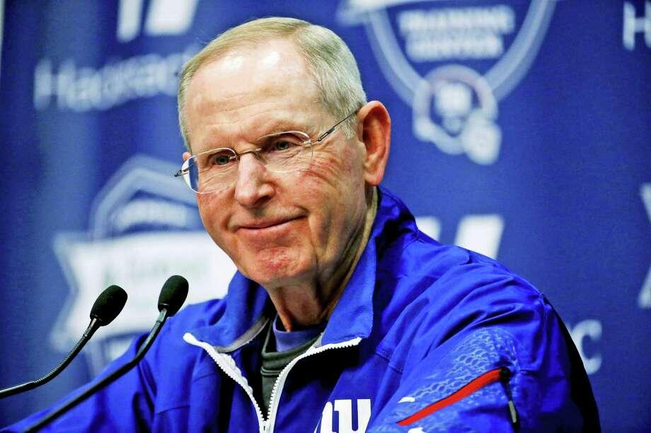 Former Giants head coach Tom Coughlin. Photo: Julio Cortez — The Associated Press   / AP
