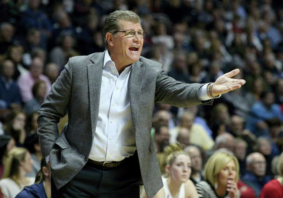 UConn coach Geno Auriemma is eager to see his team take on Notre Dame this week. Photo: Jessica Hill — The Associated Press   / AP2016