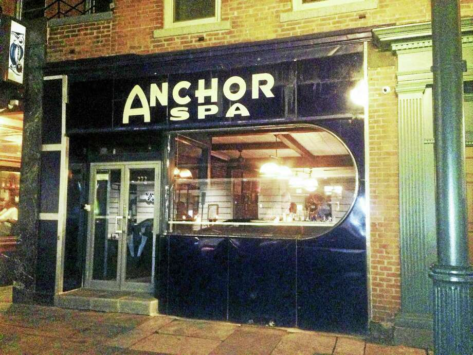 The former Anchor Bar in New Haven is now the Anchor Spa. Photo: CONTRIBUTED PHOTO — Charlotte Beach