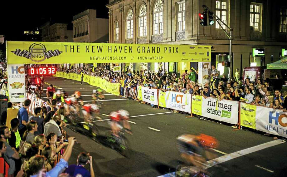 A moment from last year's Grand Prix race. Photo: Contributed