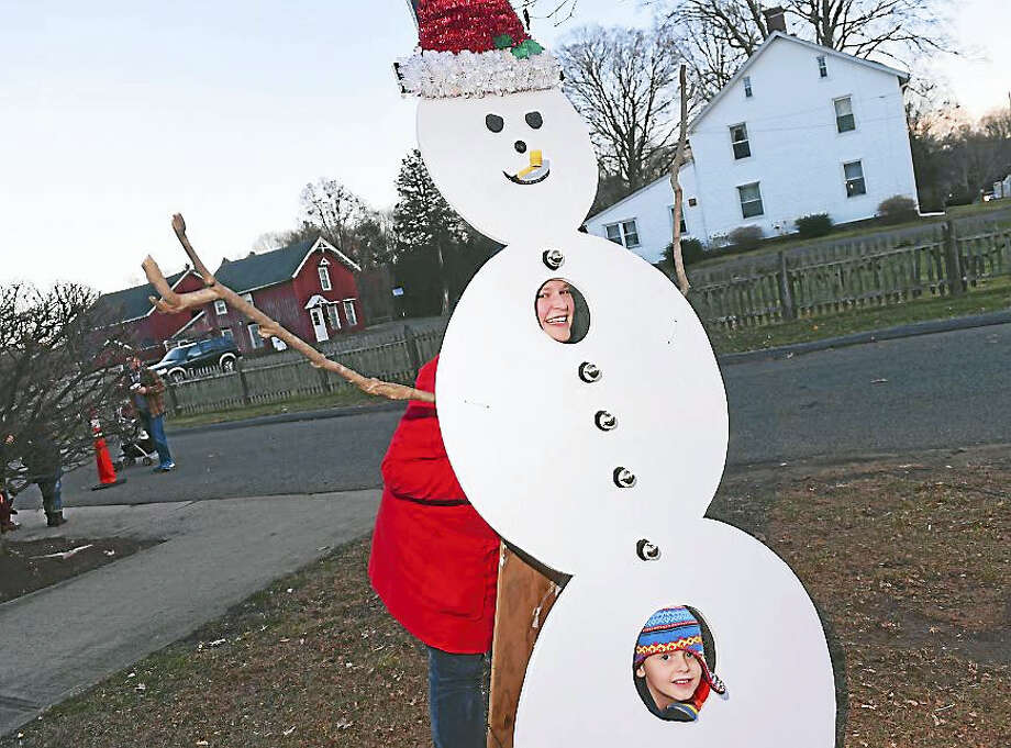 The Holiday Festival and Tree Lighting in Orange brought out kids and families Sunday from all across Greater New Haven. Photo: Photo By Arnold Gold — New Haven Register