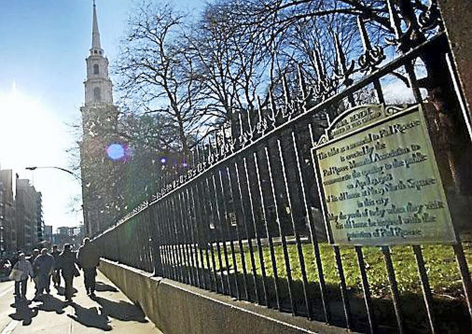 Granary Burial Ground in Boston Photo: AP Photo