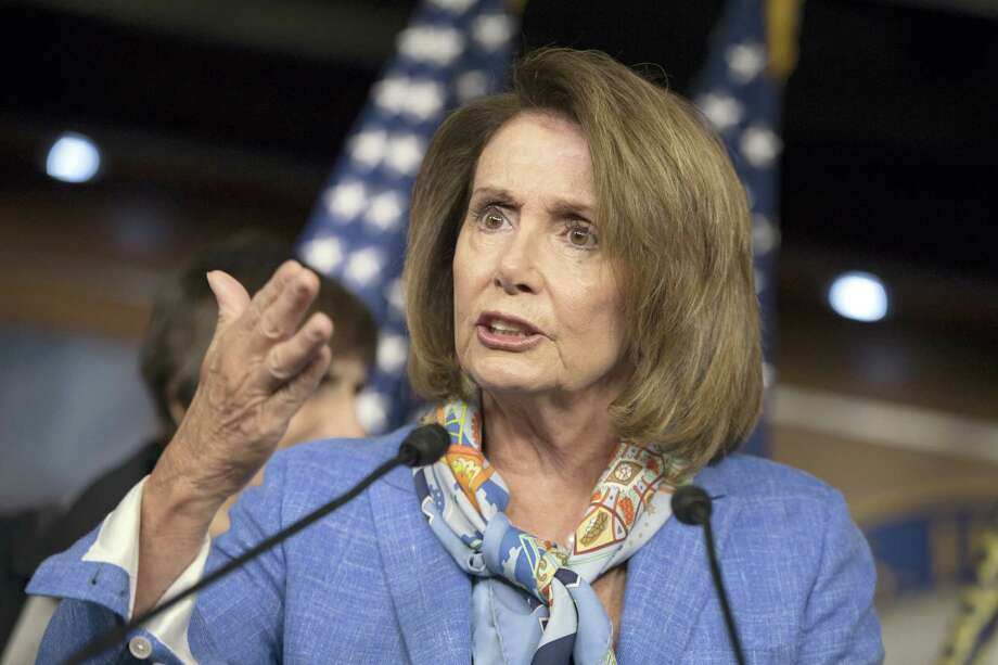 In this Aug. 11, 2016 photo, House Minority Leader Nancy Pelosi, D-Calif., speaks at a news conference on Capitol Hill in Washington. Pelosi is advising fellow Democrats to change their cellphone numbers and not let family members read their text messages after personal and official information of Democratic House members and congressional staff was posted online. Photo: AP Photo/J. Scott Applewhite   / AP