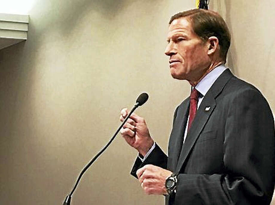 U.S. Sen. Richard Blumenthal Photo: PHOTO BY CHRISTINE STUART - CTNEWSJUNKIE