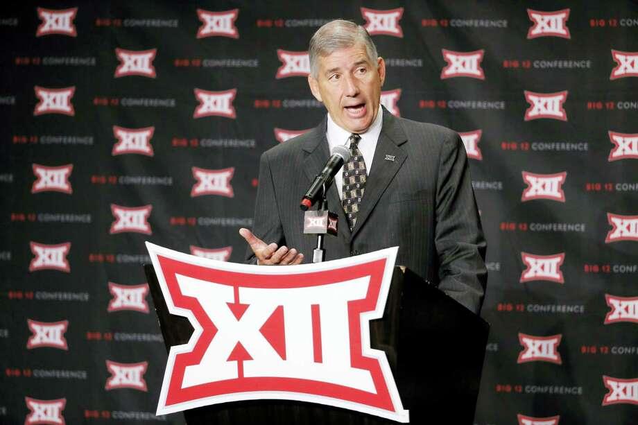 Big 12 commissioner Bob Bowlsby. Photo: The Associated Press File Photo   / Ap