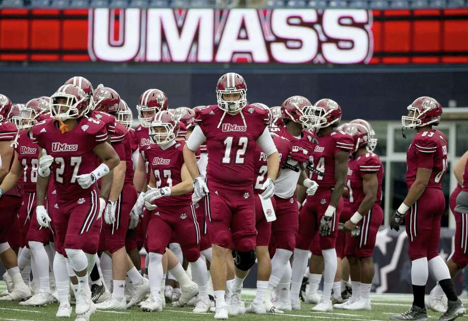 UMass will be playing as an independent during the 2016 college football season since essentially being booted out of the Mid-American Conference. Photo: The Associated Press File Photo   / Copyright 2016 The Associated Press. All rights reserved. This material may not be published, broadcast, rewritten or redistribu