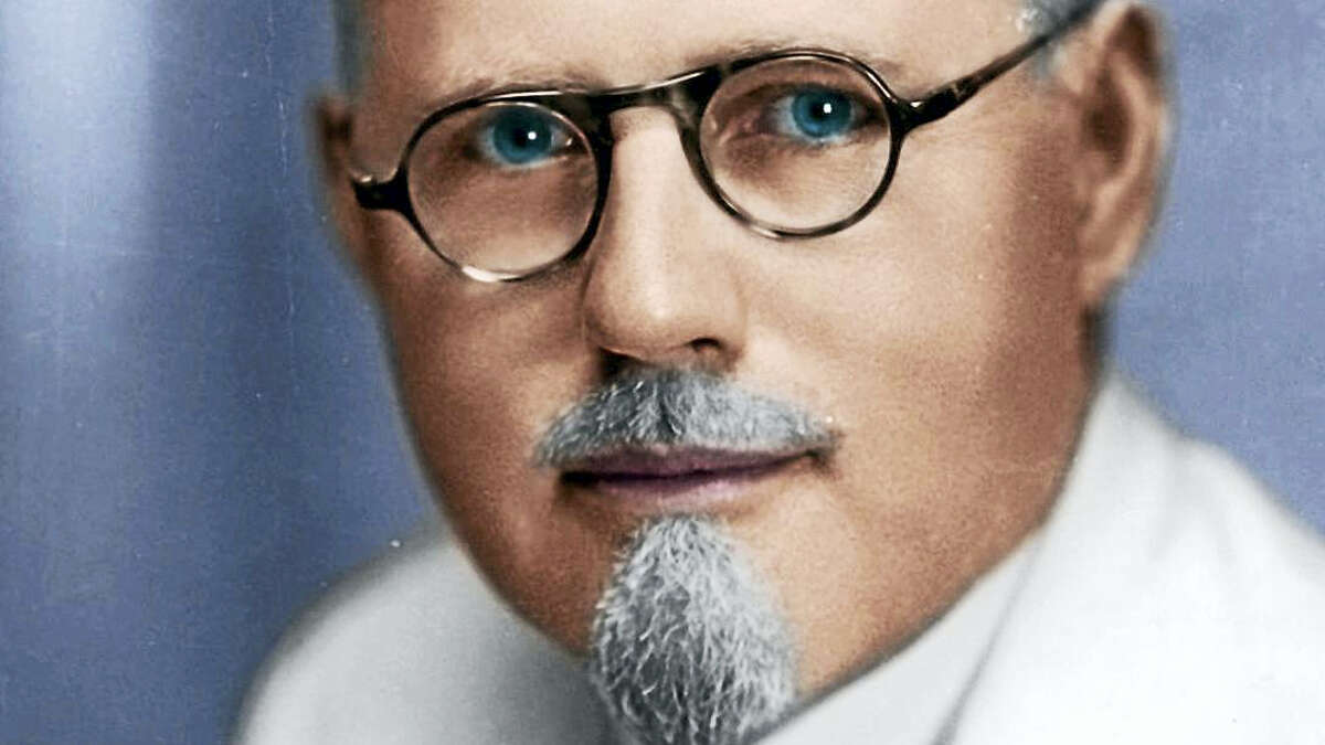 "John Romulus Brinkley, known as the ""goat gland doctor."""