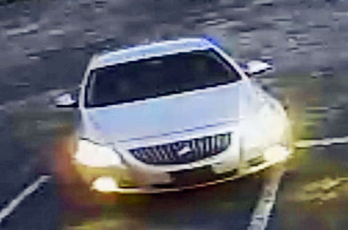 Police are looking for help identifying the suspect in this photo as well as the car he was driving.