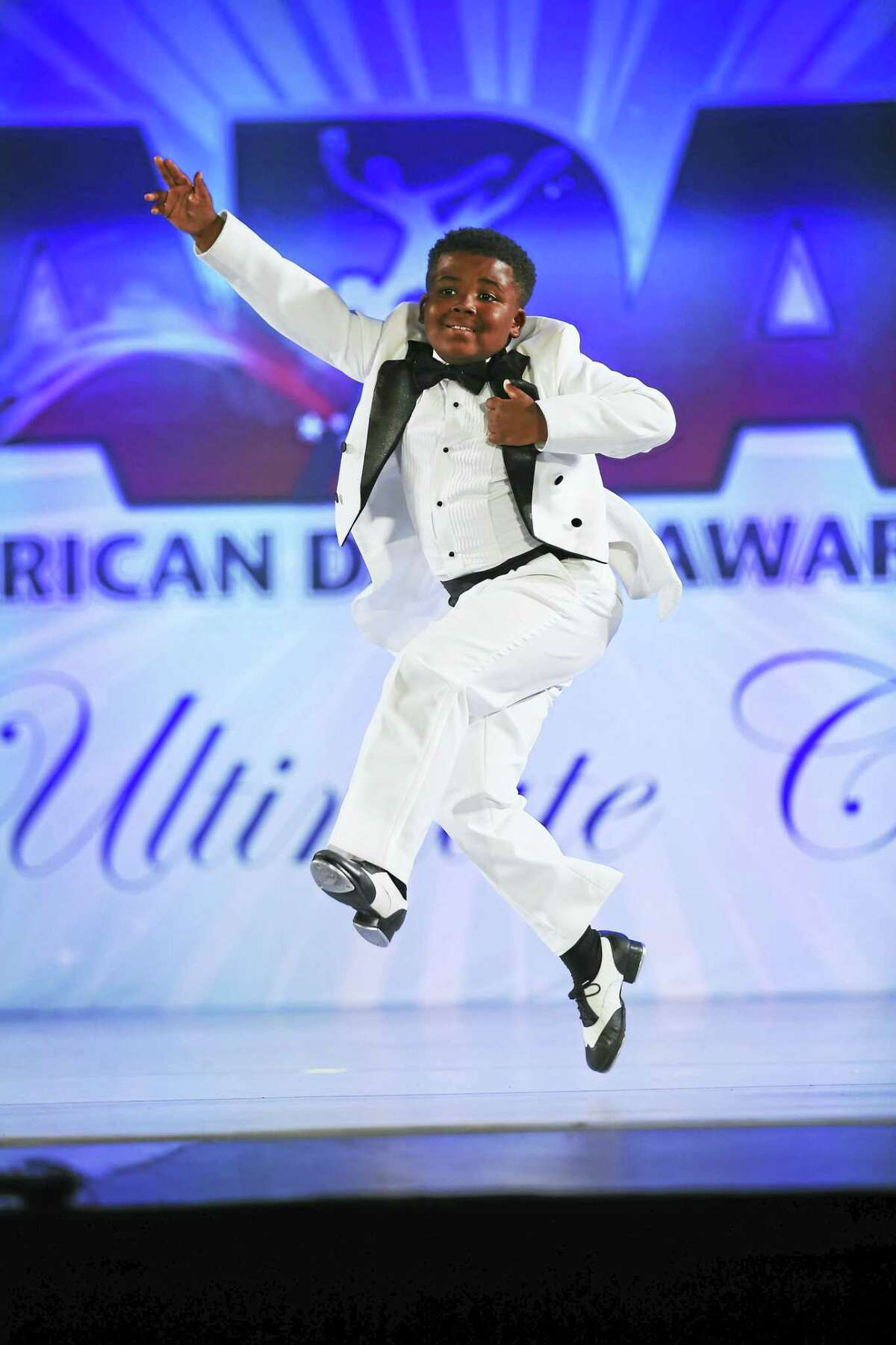 Devont'e Campbell, 9, of West Haven, won 1st place in the recent American Dance Awards competition in New York City.