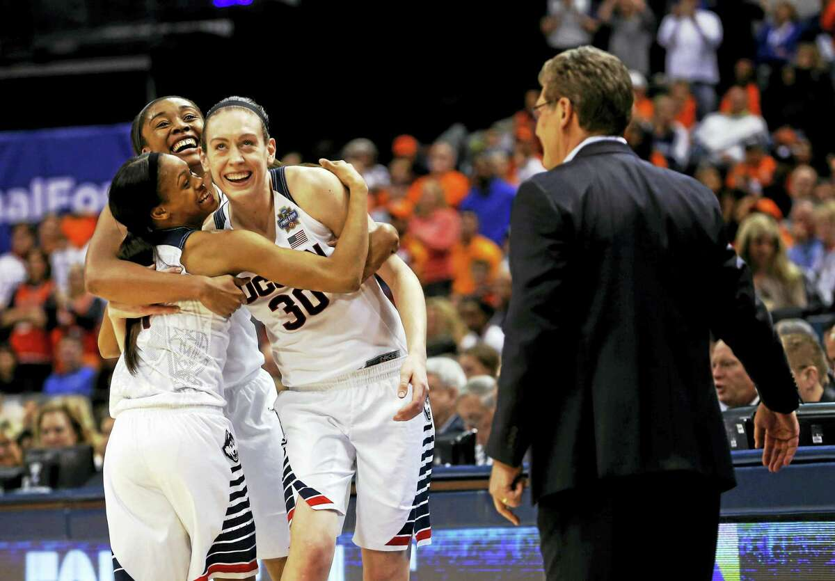 UConn will have some major adjustments to make this season with the graduation of Morgan Tuck, left rear, Moriah Jefferson (4), and Breanna Stewart (30).