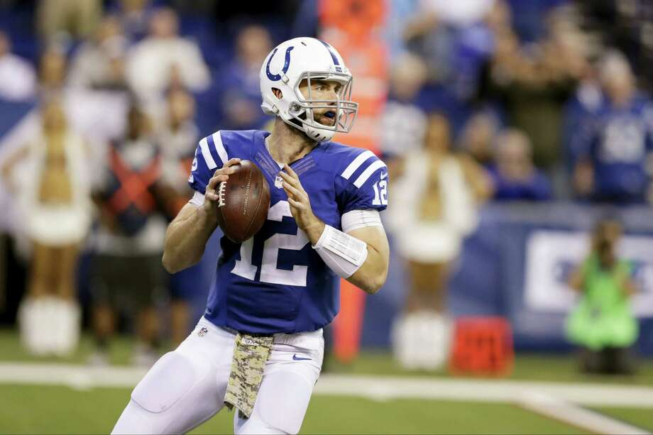 Indianapolis Colts quarterback Andrew Luck. Photo: Darron Cummings — The Associated Press File   / Copyright 2016 The Associated Press. All rights reserved.
