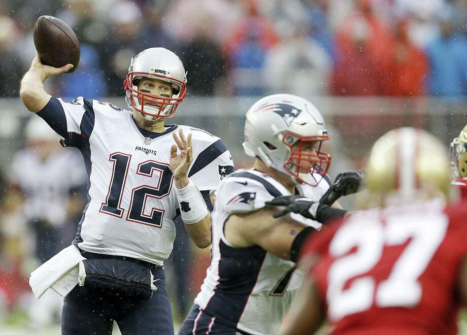 Tom Brady can become the NFL's all-time winningest quarterback on Sunday with a victory over the Rams. Photo: The Associated Press File Photo   / Copyright 2016 The Associated Press. All rights reserved.