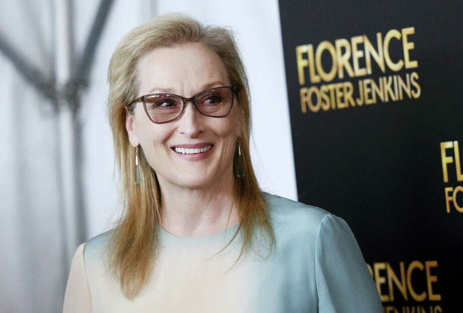 "In this Aug. 9, 2016 photo, actress Meryl Streep attends the premiere of ""Florence Foster Jenkins"" in New York. Older people are significantly underrepresented in movies, an analysis of top films has found. Streep is among just three women out of 10 older actors in lead roles cited in the study. Photo: Photo By Evan Agostini/Invision/AP, File   / Invision"