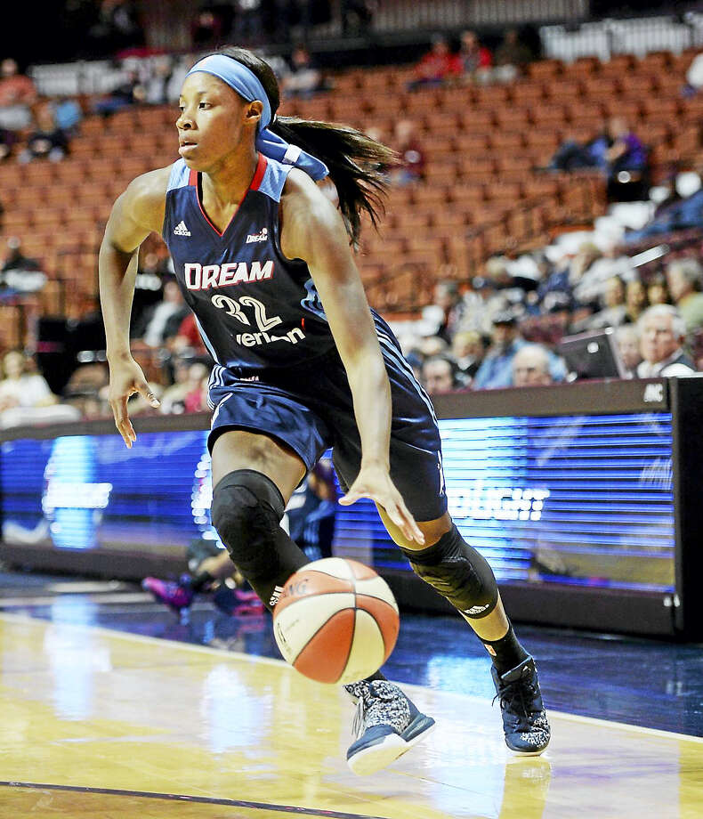 Former Hillhouse star Bria Holmes will play in Israel this winter. Photo: The Associated Press File Photo   / AP2016