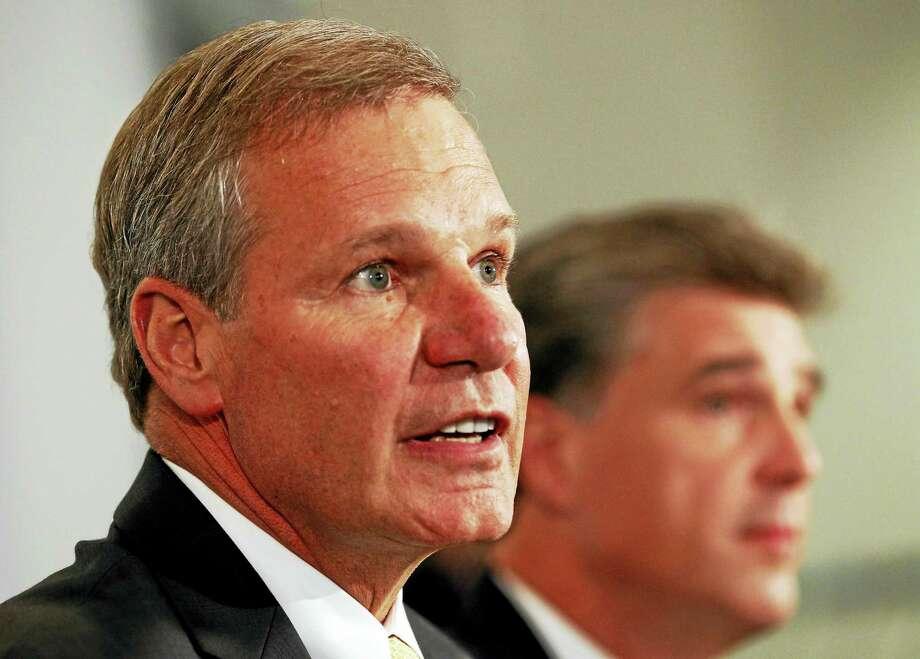 The Associated Press file photo  Georgia Tech president G.P. Bud Peterson. Photo: AP / AP