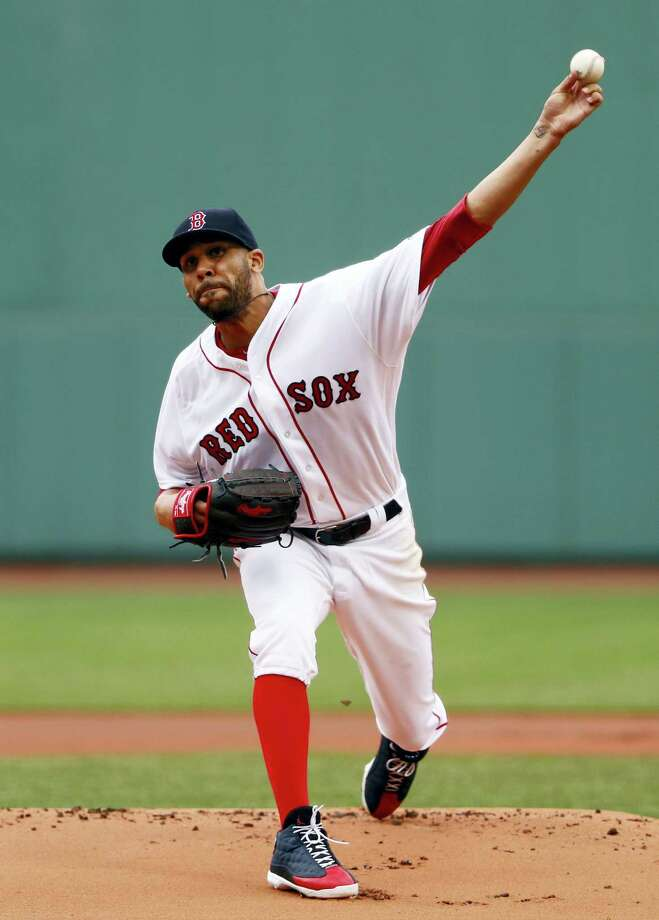 David Price threw eight shutout innings in Sunday's win over the Rays. Photo: Winslow Townson — The Associated Press   / FR170221 AP