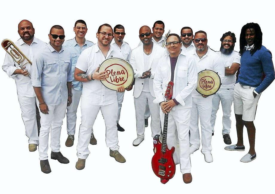 Plena Libre: big group, big sound. Photo: Contributed