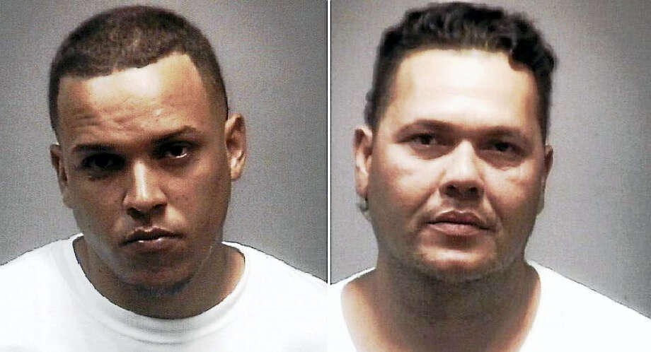 Jonathan Beltran and Reynaldo Roman-Diaz Photo: Courtesy Of New Haven Police