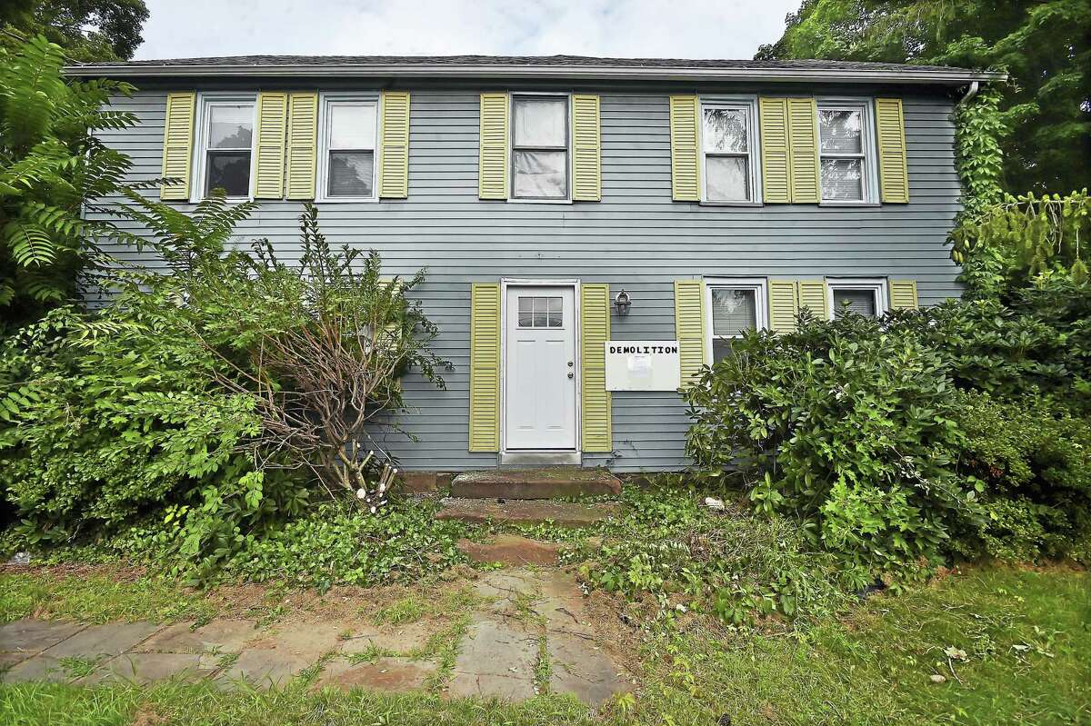 The five bedroom, 2,796-square-foot home at 3217 Whitney Ave. in Hamden.
