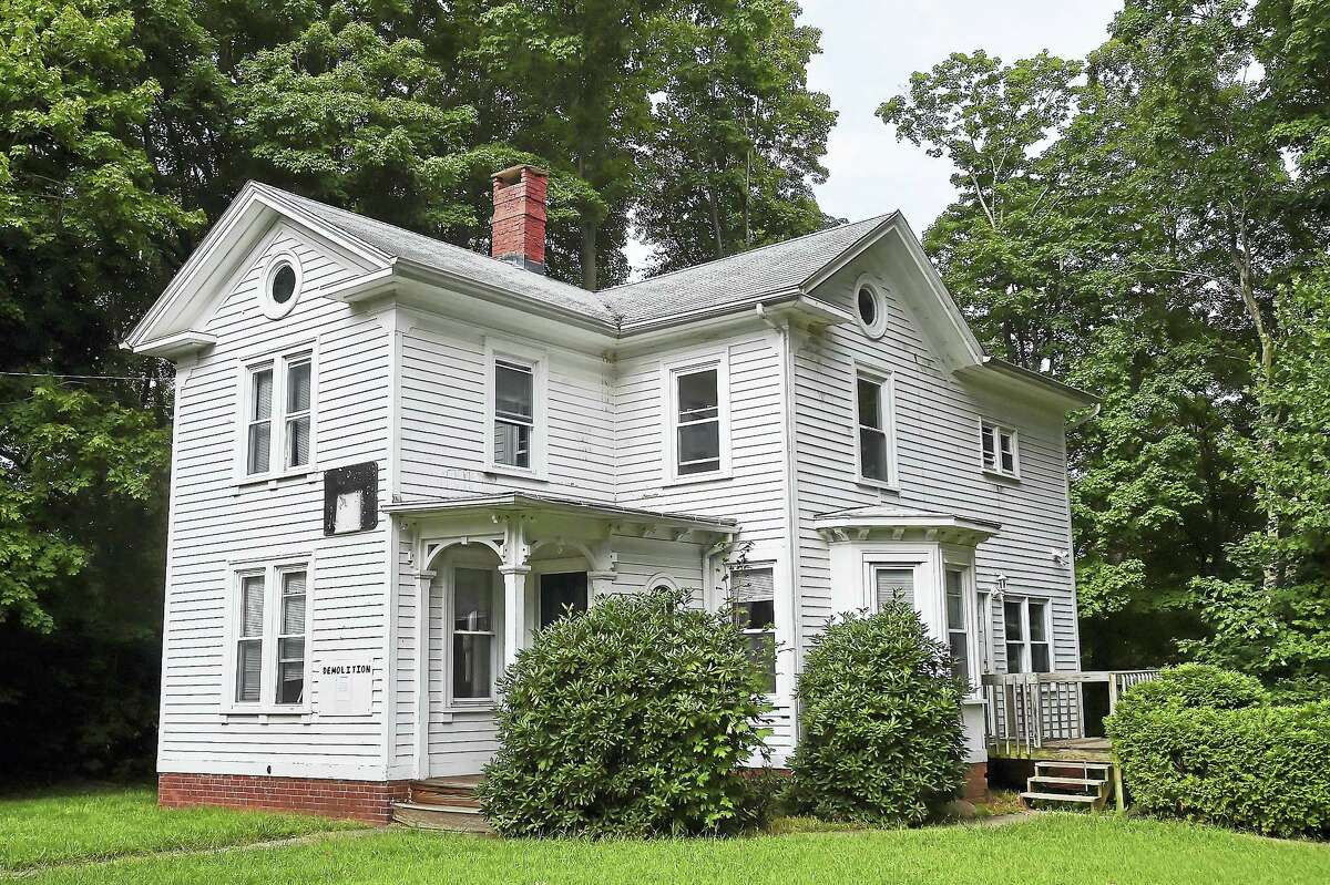 A four bedroom, 1,858-square-foot home at 3235 Whitney Ave. in Hamden.
