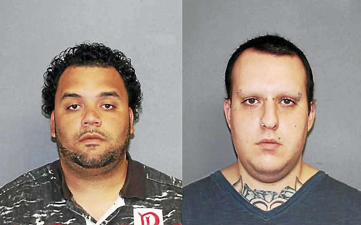 Joshua Sanchez, left, and Justin Geffert