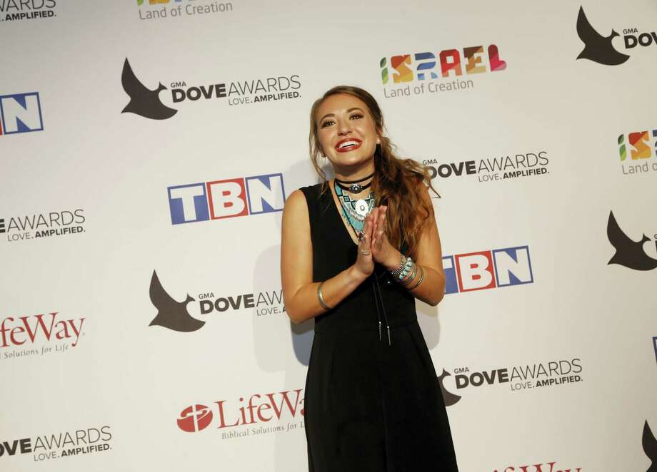 Lauren Daigle at the 47th Annual GMA Dove Awards at Lipscomb University's Allen Arena on Oct. 11, 2016 in Nashville, Tenn. Photo: Photo By Donn Jones/Invision/AP   / Invision