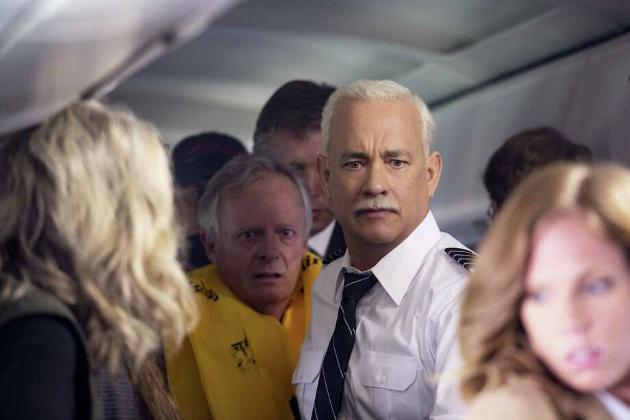 "This image released by Warner Bros. Pictures shows Tom Hanks in a scene from ""Sully."" Photo: Keith Bernstein/Warner Bros. Pictures Via AP   / © 2015 Warner Bros. Entertainment Inc. All Rights Reserved."