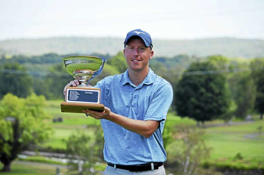 Kyle Nolin won the 31st Connecticut Public Links at the Lyman Orchards Jones Course on Tuesday. Photo: Photo Courtesy Of The CSGA
