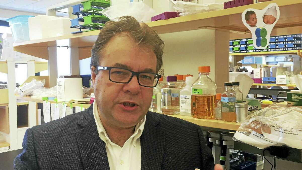ED STANNARD — NEW HAVEN REGISTER Mark Lemmon is co-director of the Yale Cancer Biology Institute.