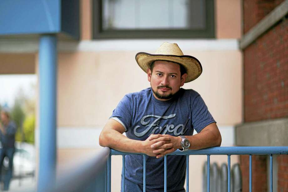 A portrait of an immigrant living in New Haven by Ian Christmann. Photo: PHOTO Courtesy Of Ian Christmann   / Image by Ian Christmann