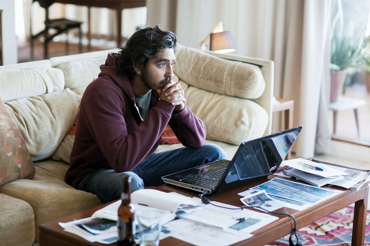 """Dev Patel appears in a scene from """"Lion."""" Patel portrays Saroo Brierley, an Indian man who was lost as a 5-year-old, adopted and raised by Australian parents, and who, 25 years later, used Google Earth to find his way home."""