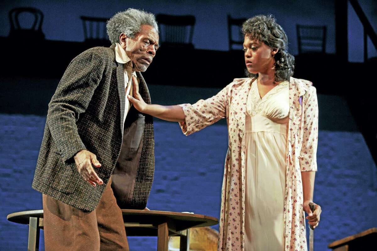 André De Shields and Antoinette Crowe-Legacy in Seven Guitars.