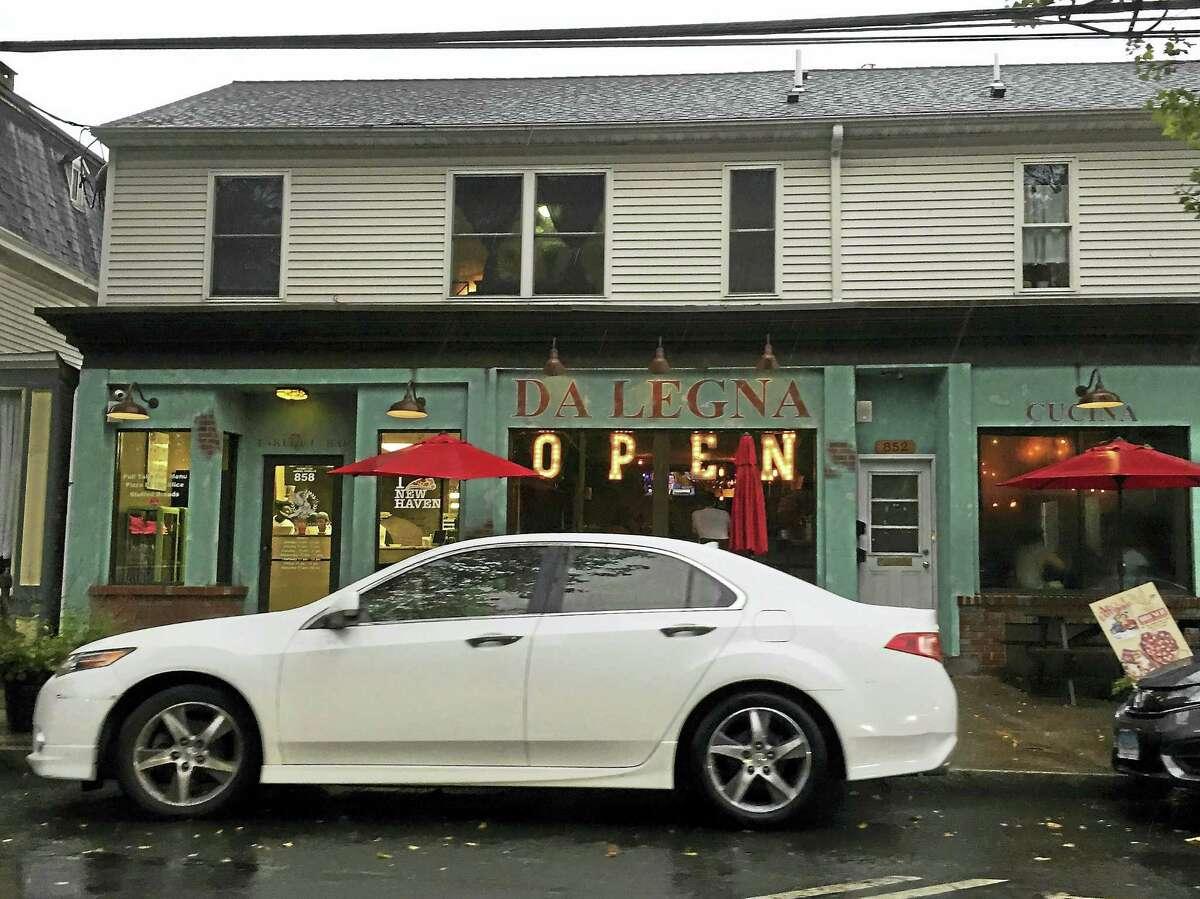 Da Legna restaurant in New Haven.