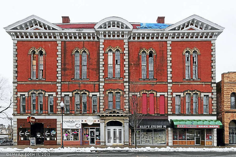 The exterior of the former Ansonia Opera House. Photo: Photo Courtesy Of Emery Roth II