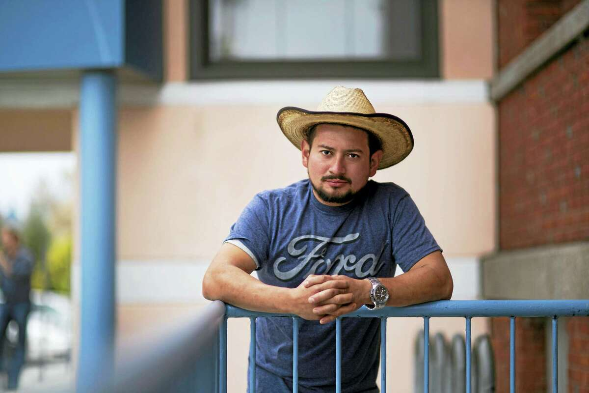 A portrait of an immigrant living in New Haven by Ian Christmann.