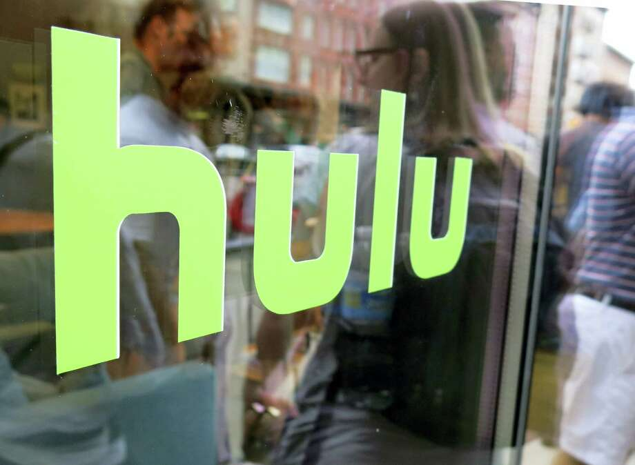 This file photo, shows the Hulu logo on a window at the Milk Studios space in New York. Photo: Dan Goodman — The Associated Press File   / Copyright 2016 The Associated Press. All rights reserved. This material may not be published, broadcast, rewritten or redistribu