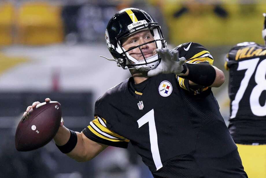 Quarterback Ben Roethlisberger  and the Steelers host the Jets on Sunday. Photo: Don Wright — The Associated Press   / FR87040 AP