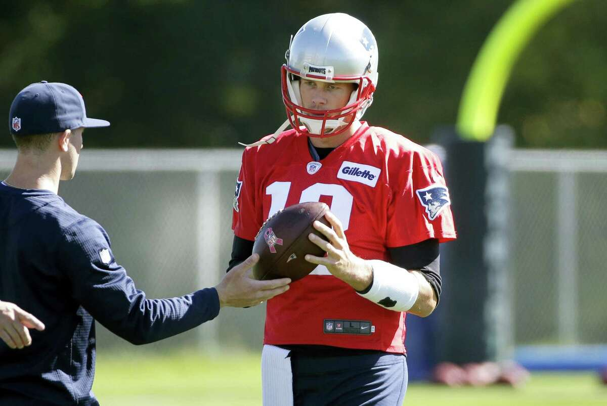Patriots quarterback Tom Brady is back this week after serving a four-game suspension.