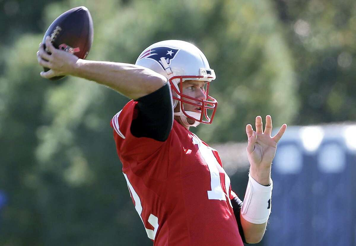 Quarterback Tom Brady will be back with the Patriots on Sunday to take on the Browns.