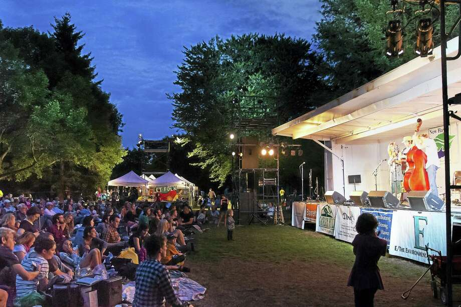 Scenes from last year's CT Folk Festival. Photo: Contributed