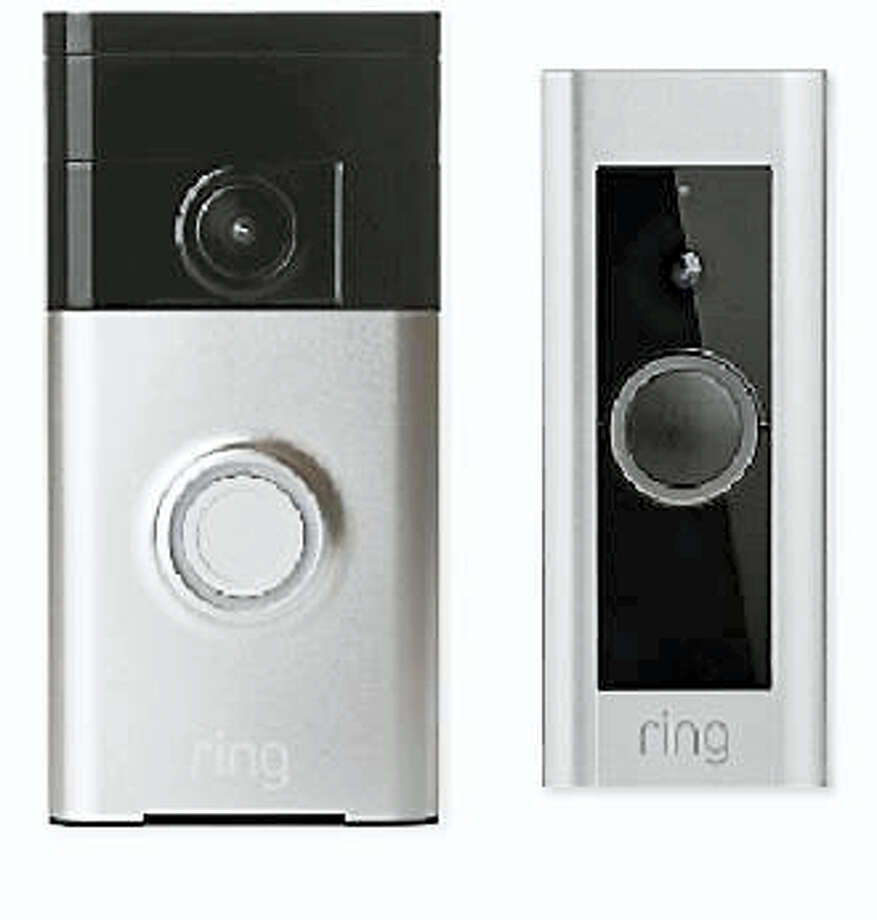 California-based Ring produces two models of doorbells. One such doorbell helped Milford police apprehended a man who allegedly attempted to break into a city home multiple times. Photo: Contributed Photo
