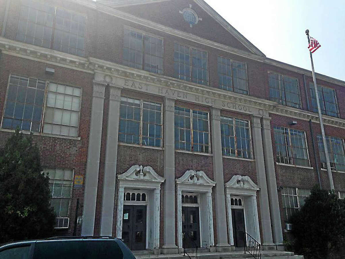 The old East Haven High School building at 200 Tyler St.