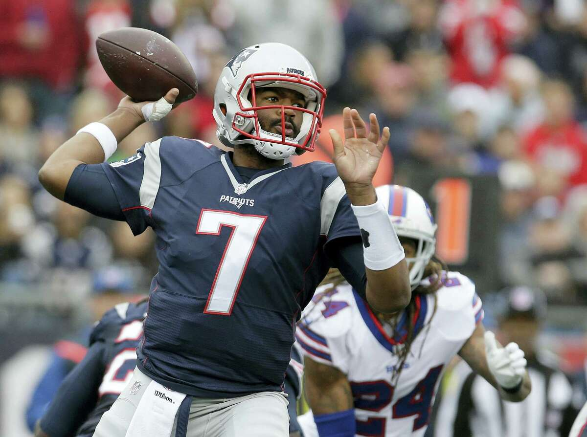 Patriots quarterback Jacoby Brissett was placed on injured reserve on Friday.