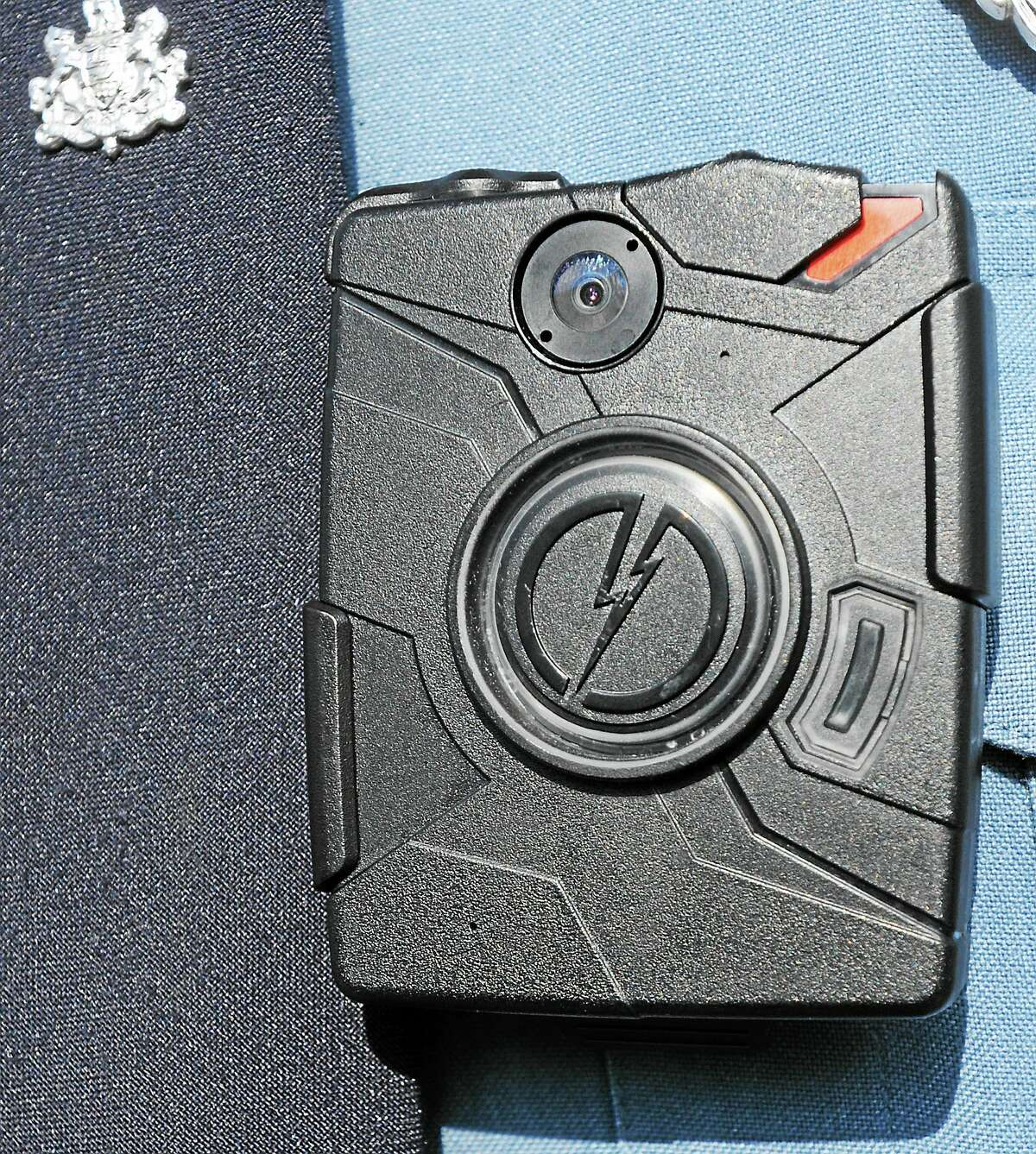 View of the body camera that some departments are using