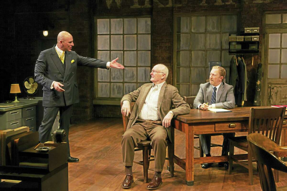 From left, Jordan Lage, Edward James Hyland and Steve Routman.